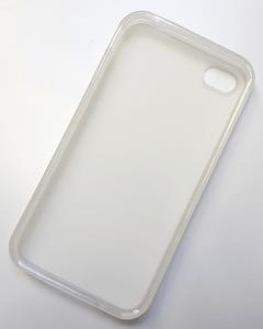 Smartphone-Hülle für iPhone 4, 4s, transparent