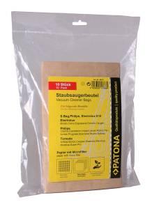 Staubsaugerbeutel für Electrolux, 10 Stück, mehrlagig Papier inkl. Microfilter, Typ E15