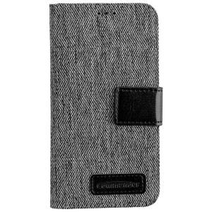 Commander Book Case Dress Grey für Samsung Galaxy S7