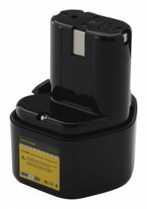 Akku für Hitachi UB12D, EB9, CL10D, EB9D, EB9S / 9.6V, 3Ah, Ni-Mh