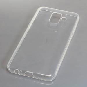 TPU Case kompatibel zu Samsung Galaxy A6 (2018) voll transparent