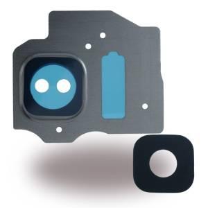 Kameralinse + Kamerafenster für Samsung G950F Galaxy S8, G955F Galaxy S8 Plus für Arctic Silber