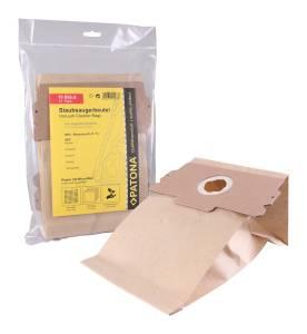 Staubsaugerbeutel für AEG, 10 Stück, mehrlagig Papier inkl. Microfilter, Größe 11 13