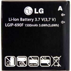 Akku Original LG Optimus 7 / LGIP-690F, 1500 mAh