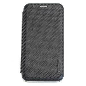 Commander SmartCase NobleSSE Carbon Style für Apple iPhone XR - Black
