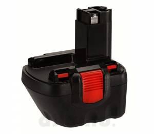 Akku für Bosch PSR12, PSR 12-2, GSR12-2 / BAT120, 2607335709, 12V, 1.5Ah, Ni-Mh