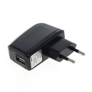 Netzteil universal USB-Anschluss, schwarz, 2A