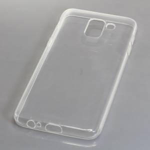 TPU Case kompatibel zu Samsung Galaxy J6 (2018) voll transparent
