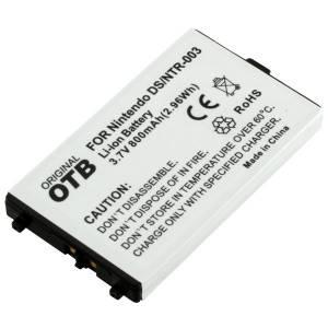 Akku für Nintendo DS, NTR003 / 800 mAh