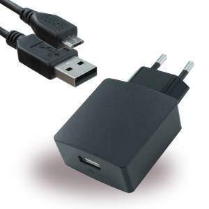 Huawei Original Ladegerät, Micro-USB, HW-050200E3W / E01, schwarz, 2A