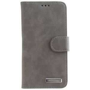 Commander Book Case Elite für Apple iPhone X / XS - Nubuk Gray