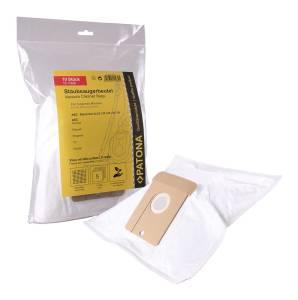 Staubsaugerbeutel für AEG, 10 Stück, 5 Lagen Vlies inkl. Microfilter, Größe 22 23 24 25 26