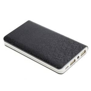 Powerakku/-bank 8.000mAh, 2x USB, 1A & 2A, nur 170 Gramm