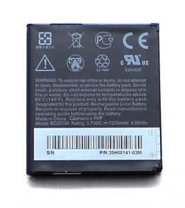 Akku Original HTC für Desire HD / BA-S470, BD26100, 1230 mAh