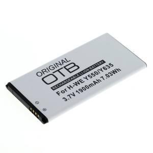 Akku wie Huawei HB474284RBC / Ascend Y550, Y635, G521, G620, 1900mAh