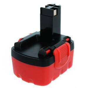 Akku für Bosch GSR14,4, PSR14,4 / BAT140, 2607335533, 14.4V, 2Ah, Ni-Mh