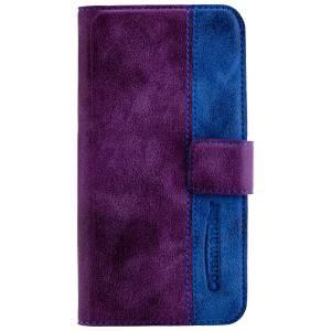 Commander Book Case Elite für Apple iPhone 7 / iPhone 8 - Purple/Blue