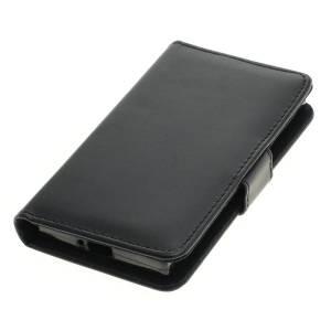 Tasche (Kunstleder) für Sony Xperia XZ1 Compact BookStyle schwarz