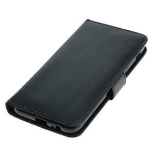 Tasche (Kunstleder) für Samsung Galaxy A6 (2018) BookStyle schwarz