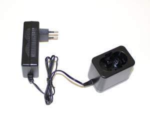Kompakt Ladegerät für Bosch Werkzeug Akkus von 7,2 bis 24V, Ni-Cd, Ni-Mh