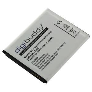 Akku für Samsung Galaxy S3 / EB-L1G6LLU mit NFC, 2100 mAh