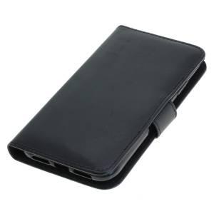 Tasche (Kunstleder) für Apple iPhone XR BookStyle schwarz
