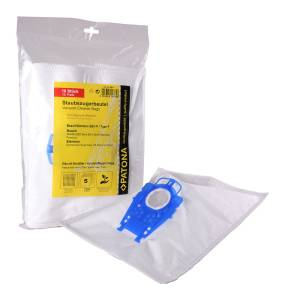 Staubsaugerbeutel für Bosch, 10 Stück, 5 Lagen Vlies inkl. Microfilter, Typ P