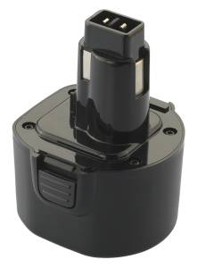 Akku für Black&Decker, Dewalt PS120 / VP100, VP4300, 9.6V, 2Ah, Ni-Cd