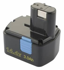 Akku für Hitachi DS14DVF3, DS14DFL / EB1414S, 14.4V, 3Ah, Ni-Mh