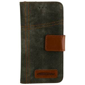 Commander Book Case Army Jeans für Apple iPhone 6 / 6S