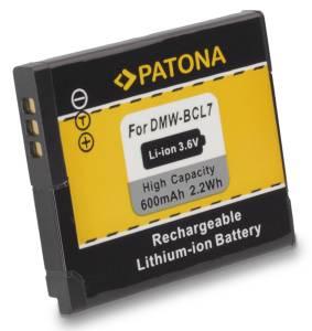 Akku wie Panasonic DMW-BCL7E / SZ9, SZ3, XS1, FS50, FH50, F5, 600mAh