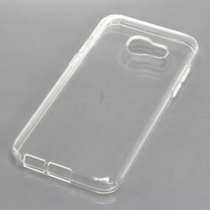 TPU Case kompatibel zu Samsung Galaxy A3 (2017) voll transparent